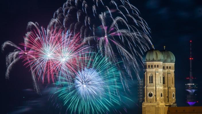 In Bayerns Städten teilweise komplettes Feuerwerksverbot