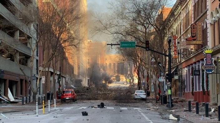 USA: fort explosion à Nashville, un acte intentionnel selon la police