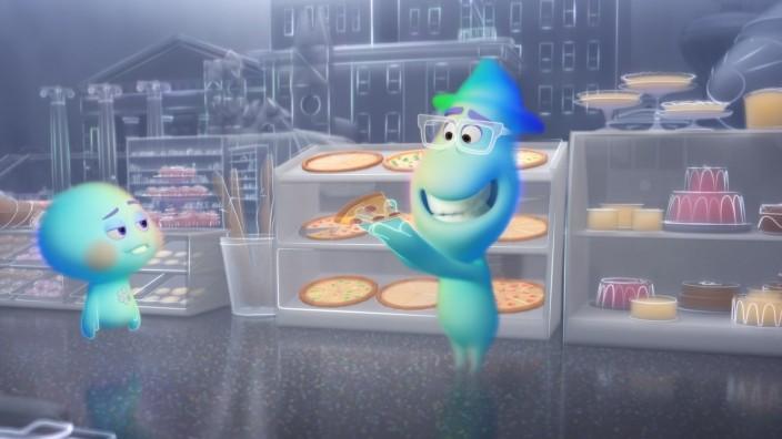 "Pixars ""Soul"": Systemsprenger unter sich: 22 will nicht ins Leben, Joe Gardner (rechts) weigert sich zu sterben."