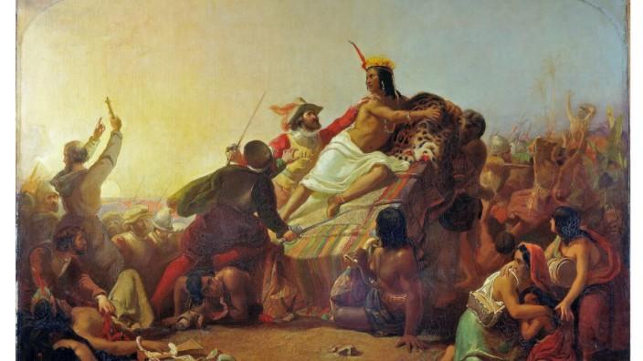 Francisco Pizarro Seizing the Inca of Peru
