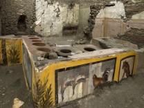 Forscher graben antike ´Snackbar
