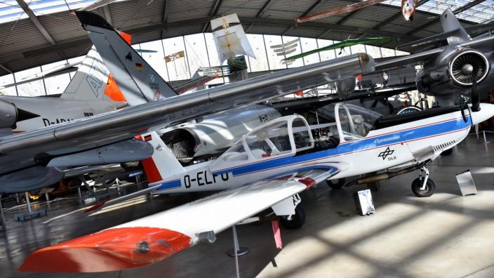 Museumsflugzeug vom Typ LFU 205 in der Flugwerft Schleißheim, 2018