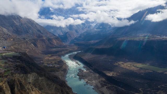 Tibetan scenery PUBLICATIONxNOTxINxCHN 815295791982313545