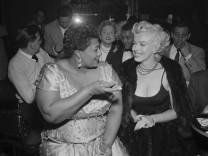 Marilyn Monroe with Ella Fitzgerald