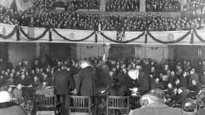 Erste Sitzung des Bayerischen Landtages, 1946