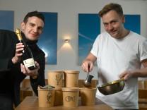 Jochen Kreppel und Maximilian Süber vom Restaurant