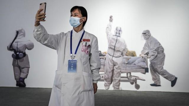 Wuhan Corona Ausstellung