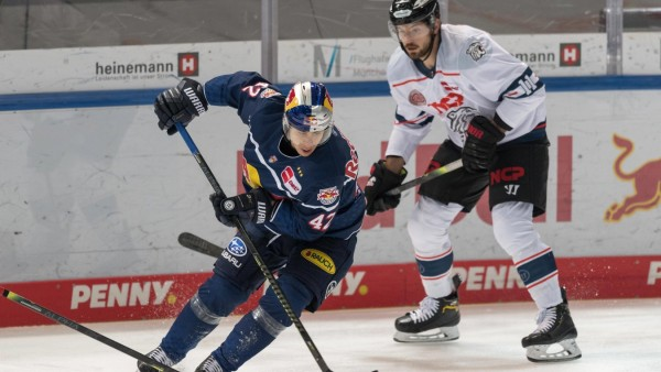 Eishockey, DEL, 28.12.2020, EHC Red Bull München - Nürnberg Ice Tigers Im Bild Yasin EHLIZ (EHC Red Bull München, 42) Z