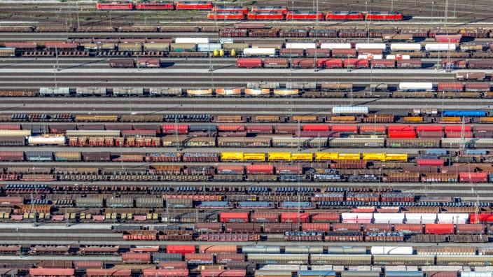 Luftbild Rangierbahnhof Hagen Vorhalle Hagen Ruhrgebiet Nordrhein Westfalen Deutschland Europa
