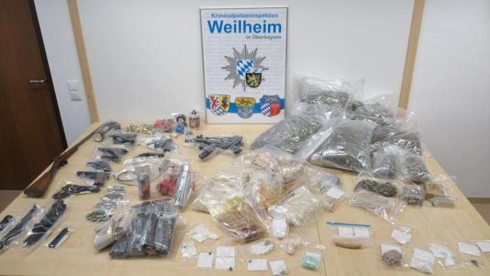 Drogennest in Wolfratshausen ausgehoben