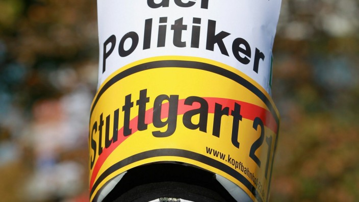 Stuttgart 21 Protests Continue