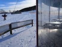 Coronavirus - geschlossenes Skigebiet im Allgäu