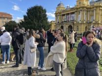 """Erdbeben in Kroatien: """"Unsere Sachen flogen durch die Wohnung"""""""