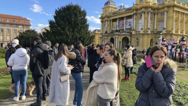 Weitere Erdbeben in Kroatien