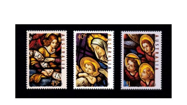 Postage stamps Munich district