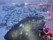 Norwegen: 11 Vermisste nach Erdrutsch nahe Oslo