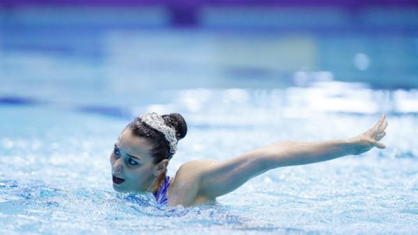 Zimmer Michelle GER APRIL 28 2018 Artistic Swimming The 94th Japan Artistic Swimming Champions; michelle zimmer synchronschwimmen