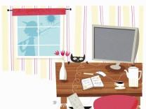 Glückliche Frau macht eine Arbeitspause und geht angeln PUBLICATIONxINxGERxSUIxAUTxONLY Copyright: xGustavxDejertx