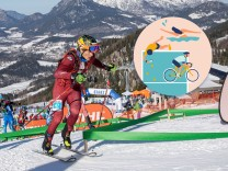 Berchtesgaden, Deutschland 08.-09. Februar 2020: ISMF World Cup Jennerstier - Germany - 2020 Stefan Knopf (GER) ISMF Wor