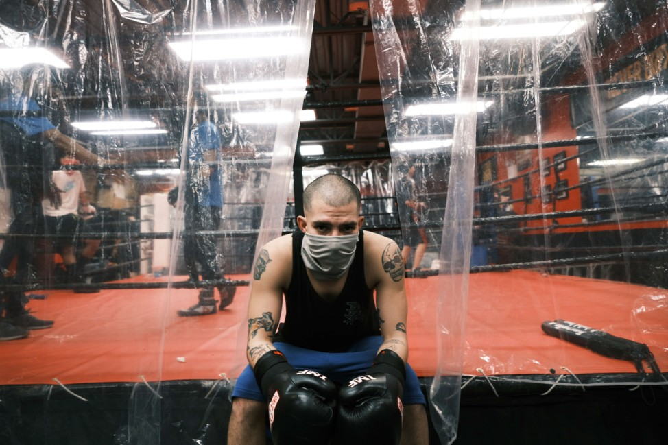 As Pandemic Surges, A Brooklyn Boxing Club Tries To Hang On