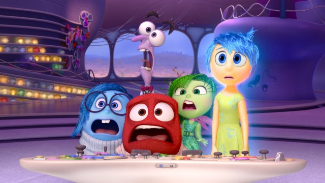 INSIDE OUT; Film Alles steht Kopf Disney Pixar Inside Out