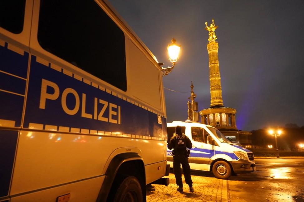 'Willkommen 2021' New Year's Eve Live Show At Brandenburg Gate