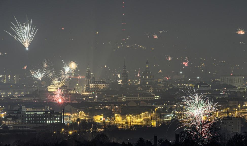 Silvester · Dresden