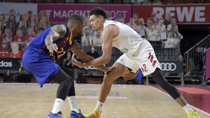 30.12.2020, xemx, Basketball EuroLeague, FC Bayern Muenchen - FC Barcelona, Barca emspor, v.l. Cory Higgins (FC Barcelon