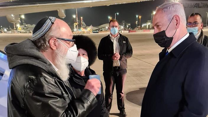 Früherer Spion Jonathan Pollard kommt nach Israel