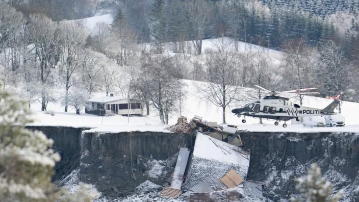Vermisste nach Erdrutsch in Norwegen