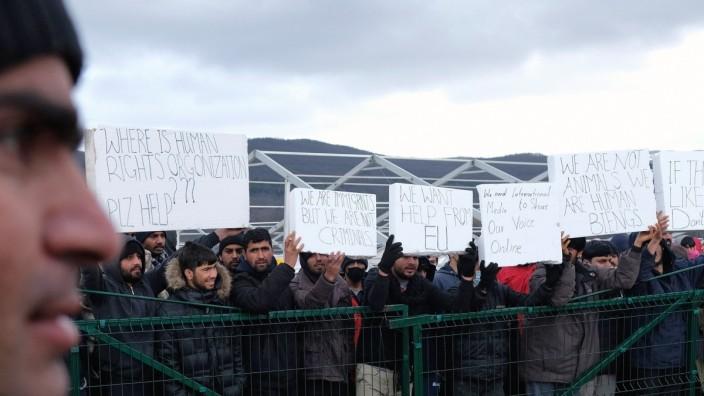Migration in Bosnien