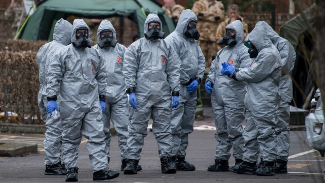 BESTPIX - British Army Deployed To The Scene Of Spy's Poisoning