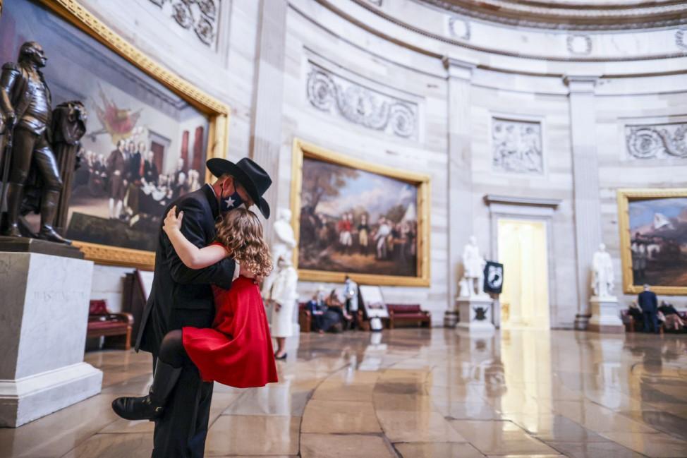 The U.S. House Of Representatives Convenes 117th Congress, Swears In New Members
