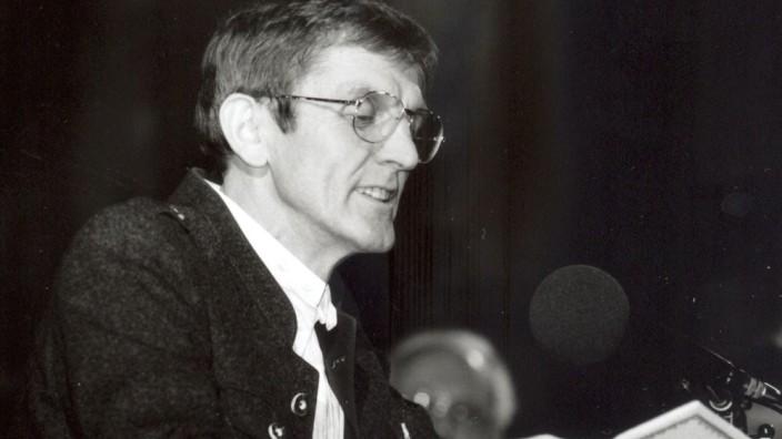 """Rupert """"Bert"""" Lindauer, Volksmusik Sprecher Wasserburg"""