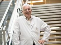 Prof. Karl-Walter Jauch, Ärztlicher Direktor Klinikum Großhadern. Er geht am 1. Januar in Rente.