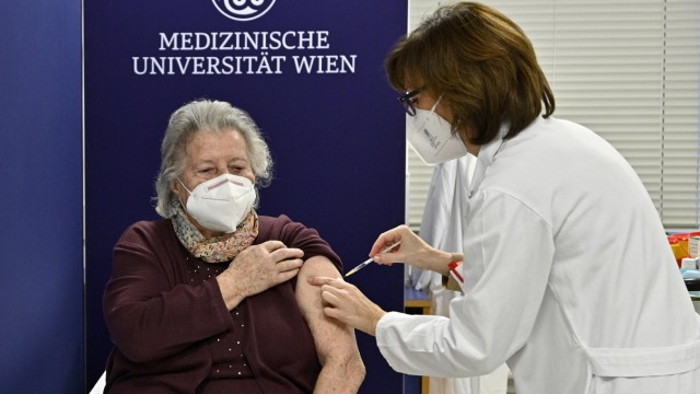Coronavirus · Impfbeginn in Österreich