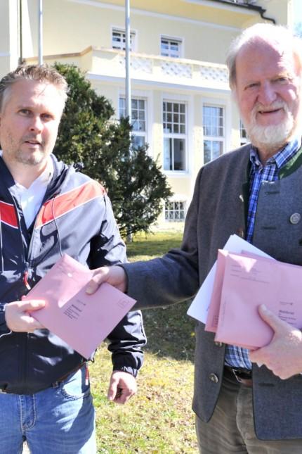 Weßling: Rathaus Kommunalwahlen