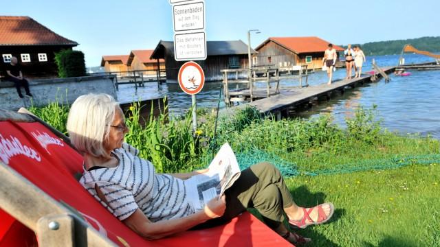 Feldafing: Strandbad