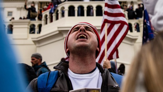 Trump Supporters Hold 'Stop The Steal' Rally In DC Amid Ratification Of Presidential Election