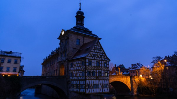 Morgens in Bamberg