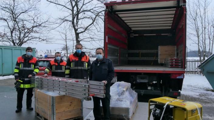 Kreisfeuerwehrverbandes Fürstenfeldbruck zur Erdbebenhilfe in Kroatien