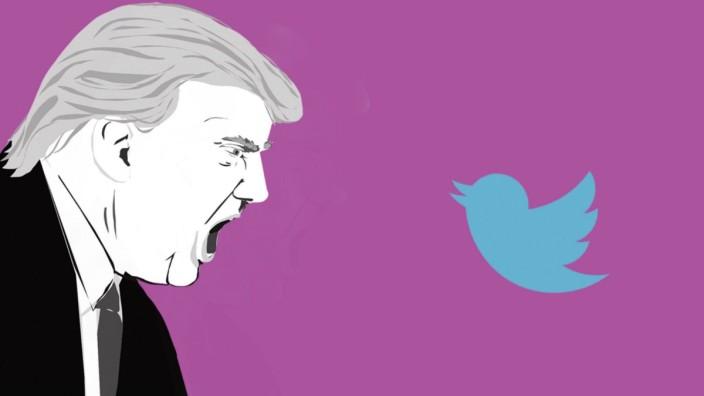 Twitter löscht den Account von US-Präsident Trump