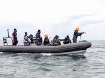 Flugzeugunglück: Absturz vor Jakarta
