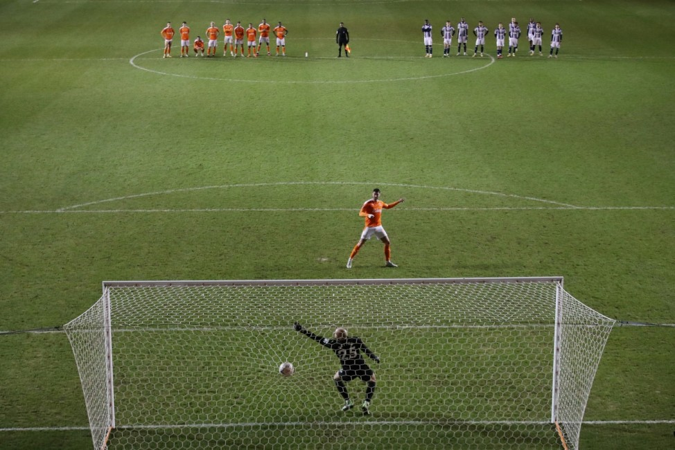 FA Cup - Third Round - Blackpool v West Bromwich Albion