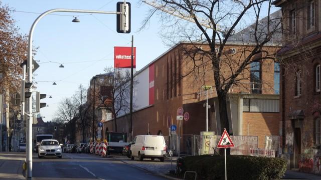 Baustelle Volkstheater
