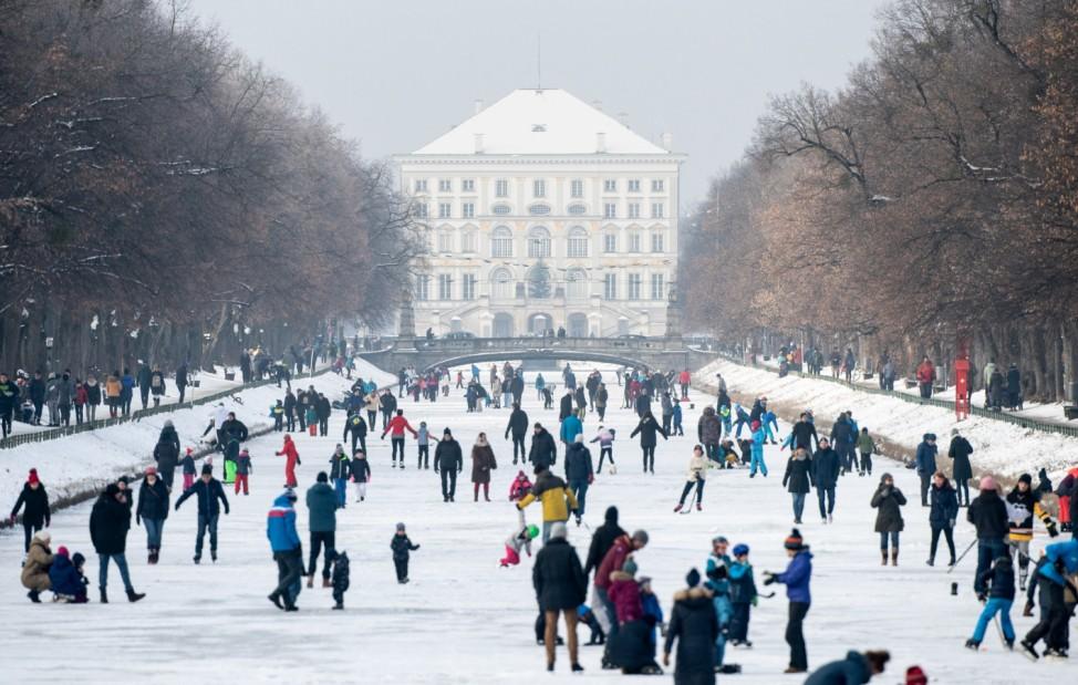 Kältewelle in München