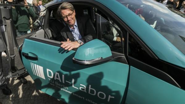Berlin Launches Autonomous Vehicles Test Route
