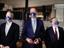 CDU-Vorsitz: Die Kanddaten Norbert Röttgen, Friedrich Merz und Armin Laschet