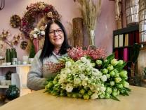 Blumenladen in Corona-Shutdown