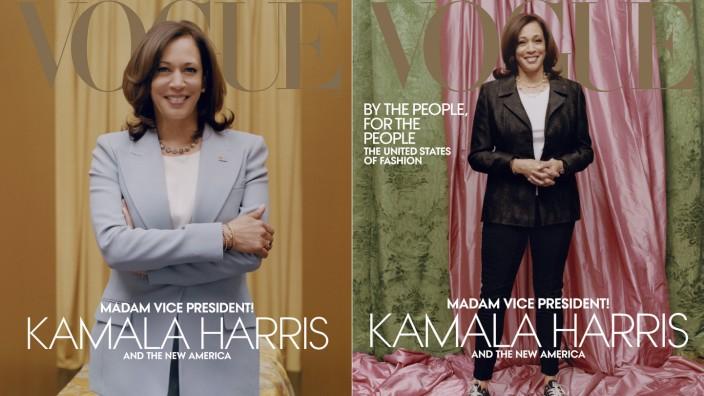 """Kontroverse um ´Vogue""""-Cover von US-Vizepräsidentin Harris"""